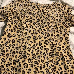 Leopard print dress 🐆 👗